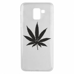 Чохол для Samsung J6 Листочок марихуани