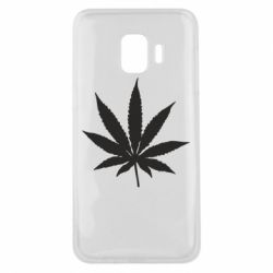 Чохол для Samsung J2 Core Листочок марихуани
