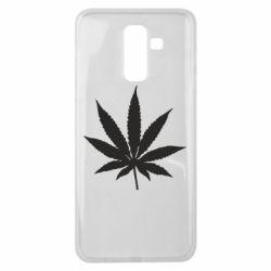 Чохол для Samsung J8 2018 Листочок марихуани