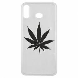Чохол для Samsung A6s Листочок марихуани