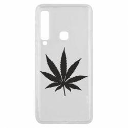 Чохол для Samsung A9 2018 Листочок марихуани