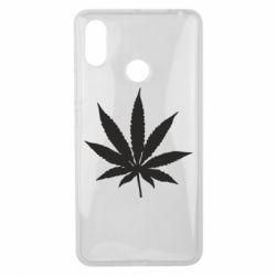 Чохол для Xiaomi Mi Max 3 Листочок марихуани