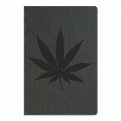 Блокнот А5 Листочок марихуани