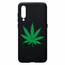 Чохол для Xiaomi Mi9 Листочок марихуани