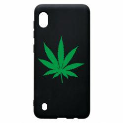Чохол для Samsung A10 Листочок марихуани