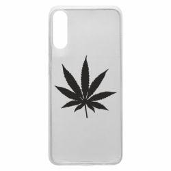 Чохол для Samsung A70 Листочок марихуани