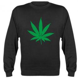 Реглан (світшот) Листочок марихуани