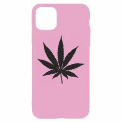 Чохол для iPhone 11 Pro Max Листочок марихуани