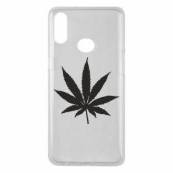 Чохол для Samsung A10s Листочок марихуани