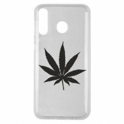 Чохол для Samsung M30 Листочок марихуани
