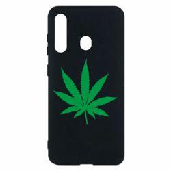 Чохол для Samsung M40 Листочок марихуани