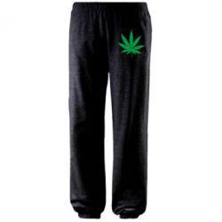 Штаны Листик марихуаны