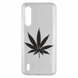 Чохол для Xiaomi Mi9 Lite Листочок марихуани