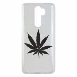Чохол для Xiaomi Redmi Note 8 Pro Листочок марихуани