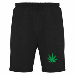 Чоловічі шорти Листочок марихуани