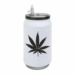 Термобанка 350ml Листочок марихуани