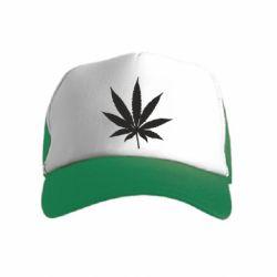 Дитяча кепка-тракер Листочок марихуани