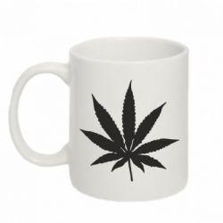 Кружка 320ml Листик марихуаны