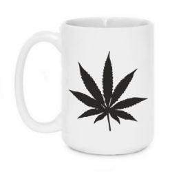 Кружка 420ml Листик марихуаны