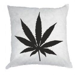 Подушка Листочок марихуани