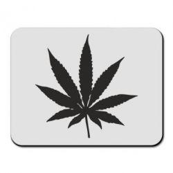 Килимок для миші Листочок марихуани
