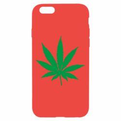 Чохол для iPhone 6/6S Листочок марихуани