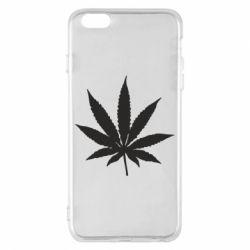 Чохол для iPhone 6 Plus/6S Plus Листочок марихуани