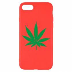 Чохол для iPhone 8 Листочок марихуани