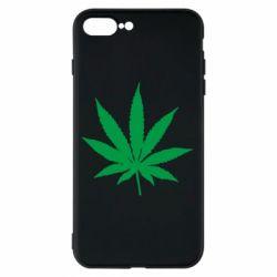 Чохол для iPhone 8 Plus Листочок марихуани