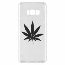 Чохол для Samsung S8 Листочок марихуани