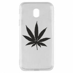 Чохол для Samsung J3 2017 Листочок марихуани