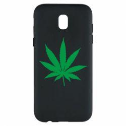 Чохол для Samsung J5 2017 Листочок марихуани