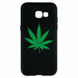 Чохол для Samsung A5 2017 Листочок марихуани