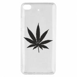 Чохол для Xiaomi Mi 5s Листочок марихуани
