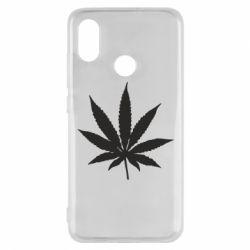 Чохол для Xiaomi Mi8 Листочок марихуани