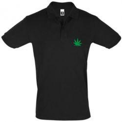 Футболка Поло Листик марихуаны