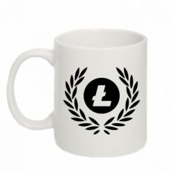 Кружка 320ml Litecoin and spikelets
