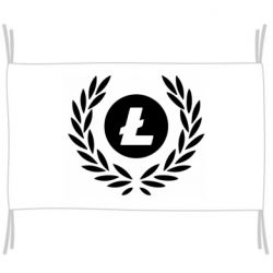 Прапор Litecoin and spikelets