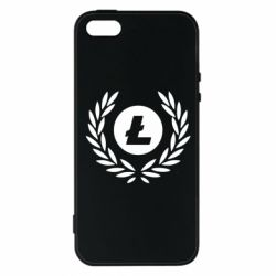 Чохол для iphone 5/5S/SE Litecoin and spikelets