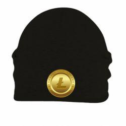 Купить Шапка на флисе Litecoin coin, FatLine