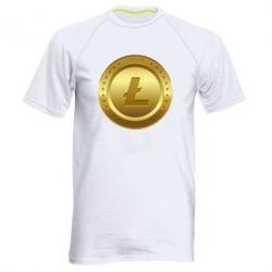 Купить Мужская спортивная футболка Litecoin coin, FatLine