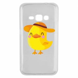 Чехол для Samsung J1 2016 Little chicken