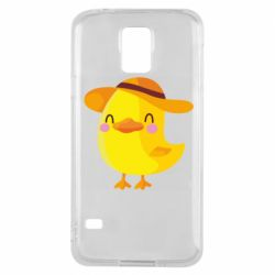 Чехол для Samsung S5 Little chicken