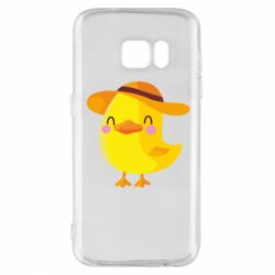 Чехол для Samsung S7 Little chicken