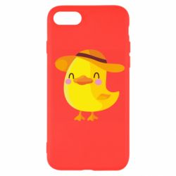 Чехол для iPhone 8 Little chicken