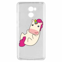 Чехол для Xiaomi Redmi 4 Little cute unicorn