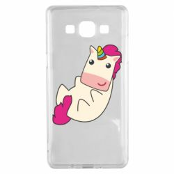 Чехол для Samsung A5 2015 Little cute unicorn