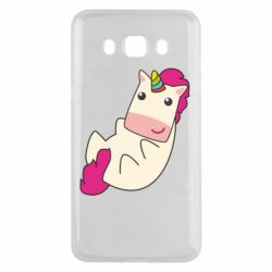 Чехол для Samsung J5 2016 Little cute unicorn