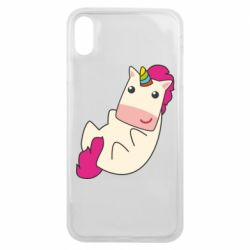 Чехол для iPhone Xs Max Little cute unicorn