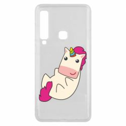 Чехол для Samsung A9 2018 Little cute unicorn